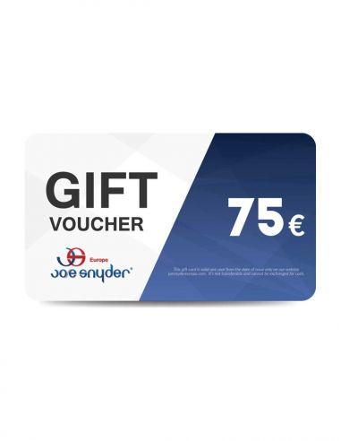 Carte cadeau - valeur 75€