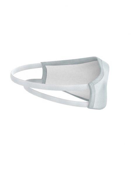 Masque facial réutilisable en tissu - 3 couches - Grise