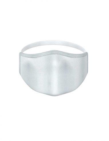 Mascarilla reutilizable - 3 capas - Gris