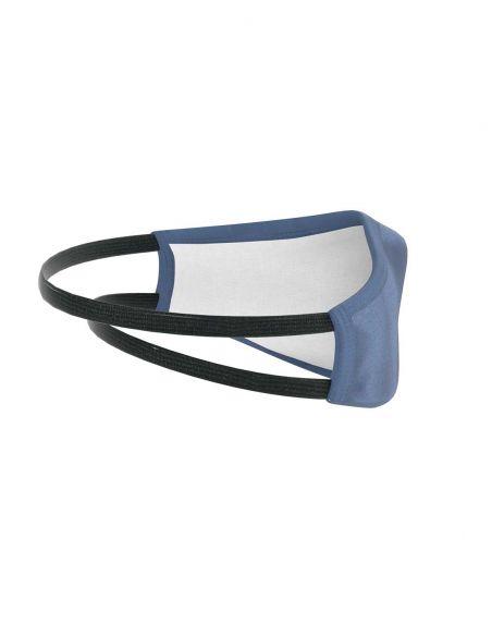 Mascarilla reutilizable - 3 capas - Azul marino