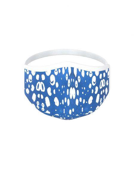 Mascarilla reutilizable - 3 capas - diseño Snow